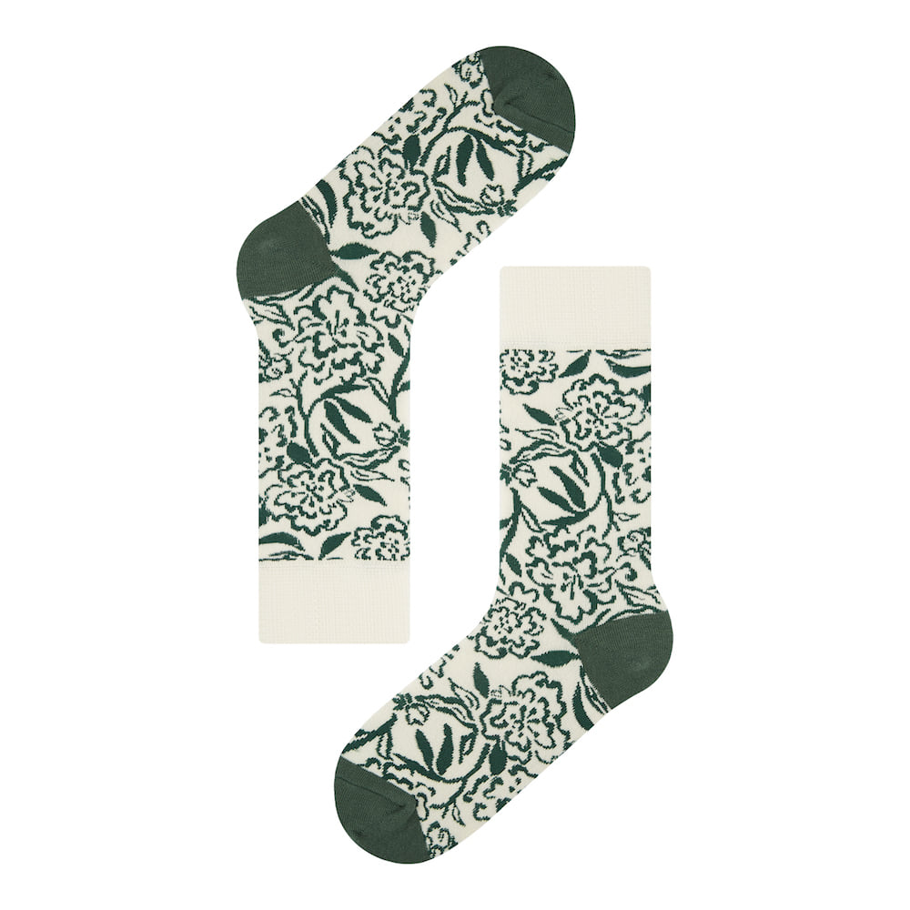 SOCKS APPEAL X LYDIA Flower Green